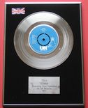 10cc - DONNA platinum Single Presentation Disc